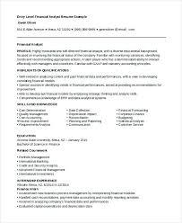 entry level finance resume resumess franklinfire co