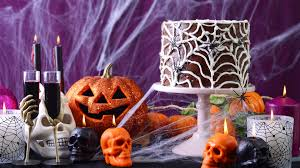 halloween party table ideas easy diy decorations for your halloween party today com