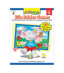 colorful file folder games resource book grade pk carson dellosa