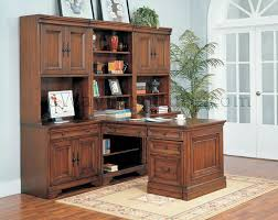 Modular Office Furniture For Home Aspenhome Warm Cherry Executive Modular Home Office Furniture Set