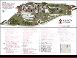 Tennessee City Map by Campus Visits Undergraduate Admissions Union University A