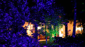Christmas Outdoor Light Projector by Garden Landscape Laser Light Youtube