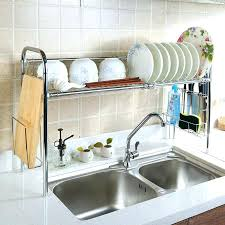 Kitchen Sink Racks Kitchen Sink Racks Stainless Shape Gri Kitchen Sink Dish Drainer