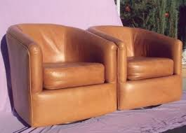 Orange Leather Swivel Chair 112 Best Furniture Swivel Chairs Images On Pinterest Swivel