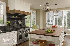 kitchen island wood countertop custom wood countertops for farmhouse style kitchens