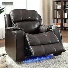 recliner chair with cup holder toddler leather chairs 3