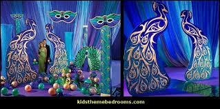 Masquerade Bedroom Ideas Decorating Theme Bedrooms Maries Manor Peacock Theme Decorating