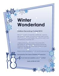 2015 winter wonderland outdoor decorating contest u2013 camas chamber