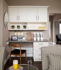 Kitchen Desk Ideas with Cool Decorative File Folders Convention Vancouver Transitional