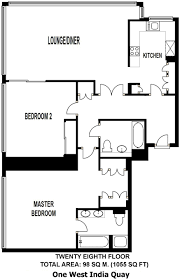 2 bedroom apartment to rent in one west india quay 24 hetsmere