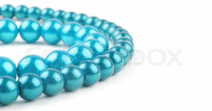 blue pearl necklace images Blue pearl necklace with copy space stock photo colourbox jpg