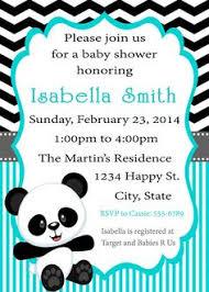 Panda Baby Shower Invitations - panda baby shower invitation inserts diaper raffle alex tebow