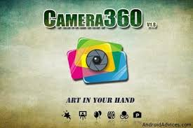 camera360 ultimate for android app to add photo effects with different modes