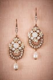 Vintage Pearl Chandelier Earrings Vintage Inspired Bridal Jewelry Influenced By 1930s Design