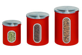 savannah red kitchen canister set also red canister set for
