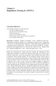 How To Write A Proposal Essay Example Hypothesis Testing U0026 Anova Springer
