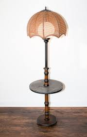 Antique Floor Lamps Stylish Design For Floor Lamp With Table Attached Ideas Antique
