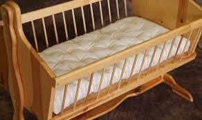 Natural Crib Mattress by Organic Baby Bassinet Natural Wool Cradle Bassinet Mattress No