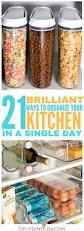 21 brilliant diy kitchen organization ideas declutter