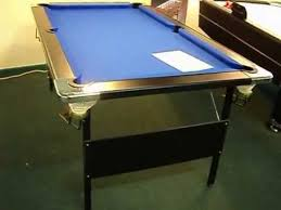 5ft Folding Pool Table Deluxe Folding Leg Pool Table By Baize Craft Of Lisburn N Ireland