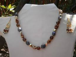 beads necklace designs images Animal print beads necklace design idea jpg