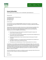 Financial Analyst Cover Letter Financial Fraud Investigator Cover Letter