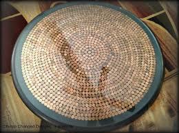 Copper Penny Tile Backsplash - 25 best penny crafts images on pinterest patio tables penny