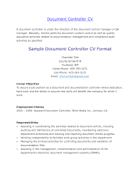 Career Goal Resume Examples by Controller Resume Objective Resume Accounting Controller Resume