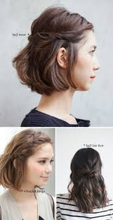 quick and easy hairstyles for short hair worldbizdata com