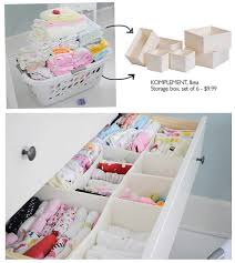 organiser chambre bébé organiser une commode tiroir chambres bébé et bébé