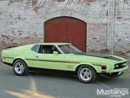 Mustang Mach One 80 Ford Mustang Mach 1 1971 Retrocar Youtube