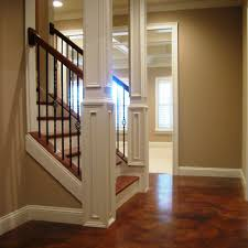 Finish Stairs To Basement by Backyard How Finish Basement Bedroom To Ceiling Bathroom Without