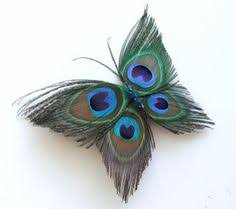 peacock headpiece peacock hair clip with by mydreamwedding on etsy