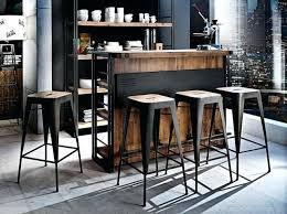 table bar cuisine design table bar industriel jaol me