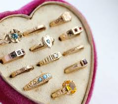 baby rings jewelry images Vintage jewelry trends of 2016 opals rose gold baby rings oh