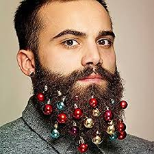beard ornaments beard ornaments 12pc colorful christmas hair