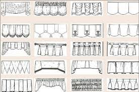 Drapery Valance Quick Guide To The Most Common Hanging Curtains And Drapery Real