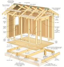 59 shed roof plans how to build a small shed plans and designs