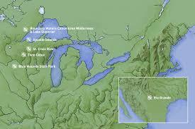 Bwca Map Voyageur Outward Bound Outward Bound