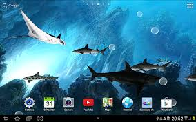 live halloween wallpapers for desktop 3d sharks live wallpaper android apps on google play