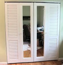 Shutter Doors For Closet Mirrored Dresser Chest Shutter Closet Doors Home Design Ideas