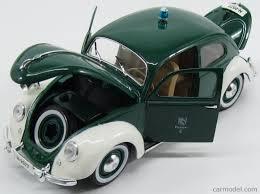 volkswagen beetle green maisto 31820 scale 1 18 volkswagen beetle florian 4 police 1951