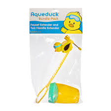 amazon com aqueduck faucet extender sink handle extender safe