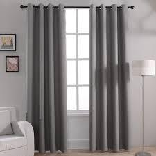 rideau chambre à coucher moderne solide blackout rideaux pour chambre à coucher salon fenêtre