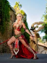 Wow Halloween Costumes Blood Elf Priestess Jessica Nigri Warcraft C0spl4y