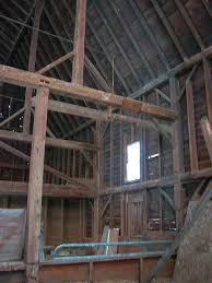 Gambrel Roof Barn Settlers Mountain Barn Home Heritage Restorations