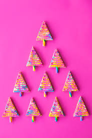 technicolor christmas tree cookie bars studio diy