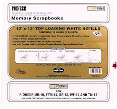 pioneer scrapbook refills pioneer 12x12 refills post 10 s special offer kalulu scrapbooks