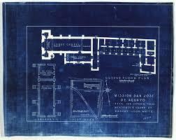 mission san jose floor plan mission san josé y san miguel de aguayo plot ground and granary