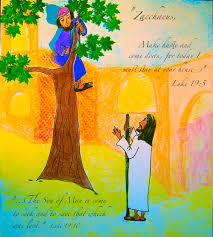 zacchaeus is found kidsbible